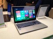 laptop w pracy