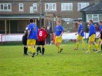 drużyna na piłkarskim boisku