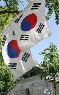 Flaga koreańska