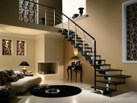 Piękne wnętrze z idealnie dobranymi schodami